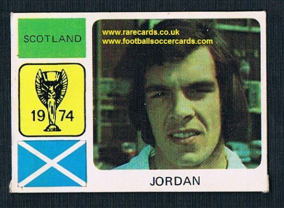 1974 Monty World Cup WC74 sticker Joe Jordan Leeds United
